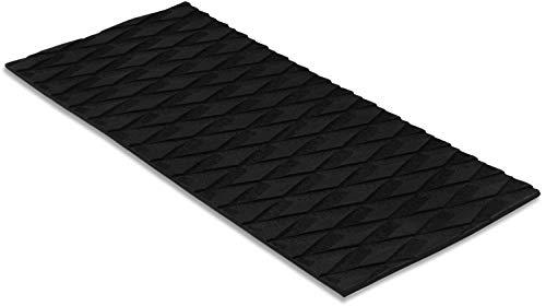 "Non Slip Grip Traction Mat - Marine Flooring & Paddle Board Step Pad - Boat Floor, Kayak, Surfboard, Skimboard & SUP Paddleboard Deck Padding - Versatile & Trimmable EVA Foam Sheet - 13"" x 6"""