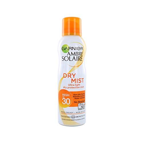 Garnier Ambre Solaire Dry Mist Fast Absorbing Sun Cream Spray SPF30