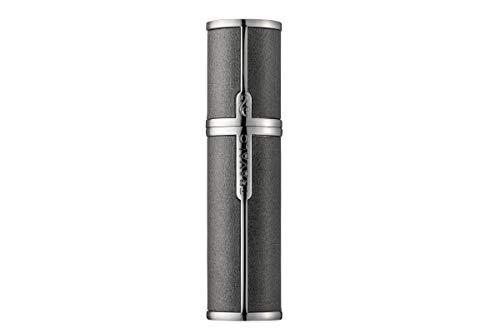 TRAVALO (トラヴァ―ロ) ミラノ アトマイザー ブラウン 香水 旅行 携帯 詰め替え ボトル 簡単 香水スプレー (Gray)