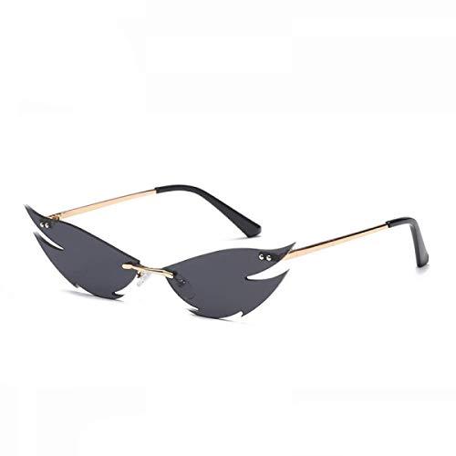 Gafas De Sol Sin Montura, Gafas De Sol Personalizadas Estilo Punk Uv400 Gafas De Sol Anti-Ultravioleta Y Anti-Reflejos (4 Colores) Unisex