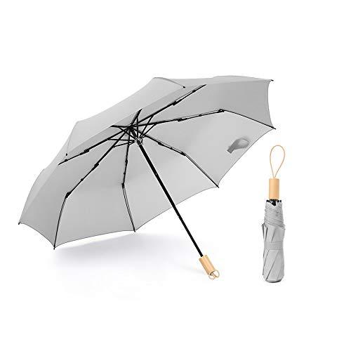 1 unid paraguas plegable compacto mini paraguas de viaje ligero lluvia y sombrilla para mujeres hombres y niños