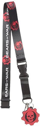 Bioworld Men's Gears of War Lanyard, black, One Size