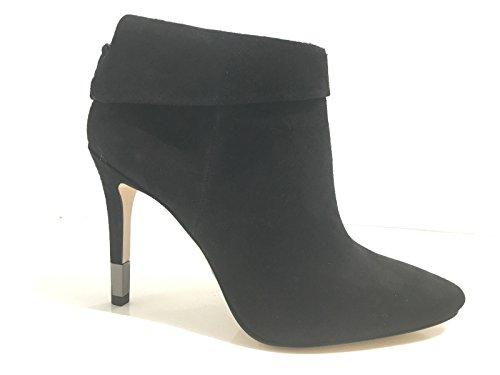 Guess Scarpe Donna Ankle Boot TC 90 Suede Nero Tronchetto Mod Vena D17GU17