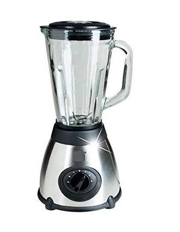 VitaSpeed SP50 Standmixer Mixer 500W, Eiscrusher mit Edelstahl Klingen, Blender 1,5 L Glasbehälter, Smoothiemixer mit 19.000 U/min
