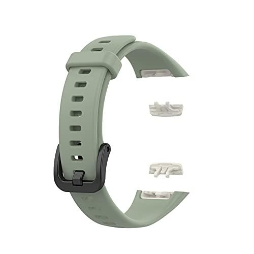 spier Correa de repuesto para reloj – Compatible con Huawei Band 6 / Honor Band 6, TPU impermeable pulsera deportiva para hombre y mujer
