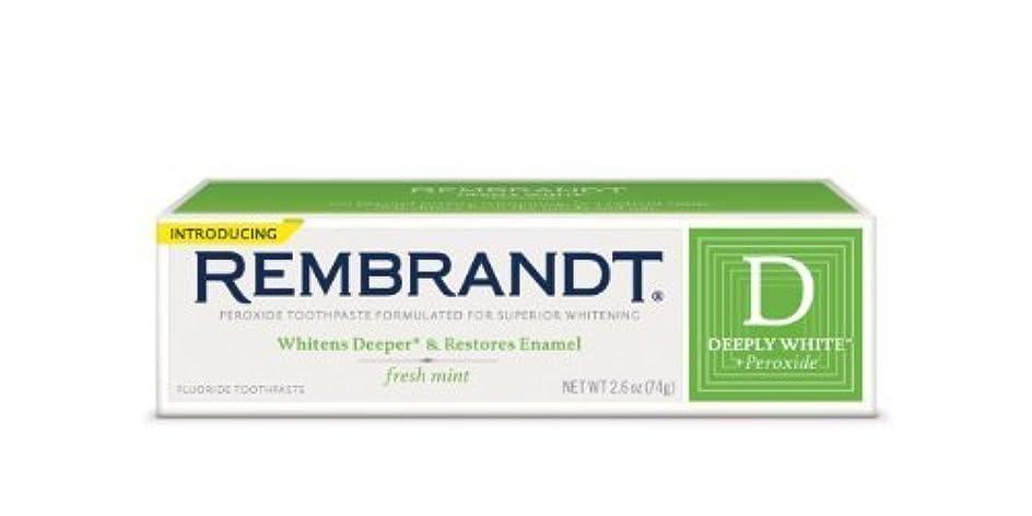 毎回ズボン問い合わせるRembrandt Fluoride Toothpaste, Mint - 2.6 oz - Mint [並行輸入品]