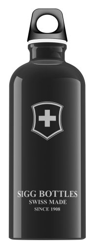 SIGG (Sig) Swiss emblem 0.6L Black 50 249 (japan import)