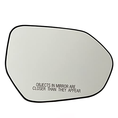 Spieg Passenger Side Mirror Glass Replacement for Toyota Corolla Camry 2019-2021 Heated w/ Back Plate Right (RH)