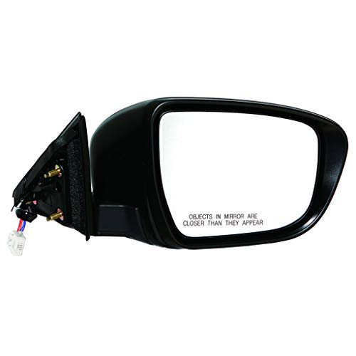 KarParts360: For 2014 2015 2016 NISSAN ROGUE Door Mirror Passenger Side | Unpainted Finish | Non-Heated | | Signal Indicator