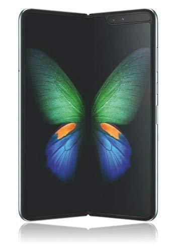 Samsung F907B Galaxy Fold 5G 512GB/12GB RAM Single-SIM ohne Vertrag space-silver