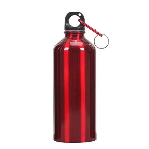 Matefielduk La botella de agua portátil al aire libre de aluminio de...