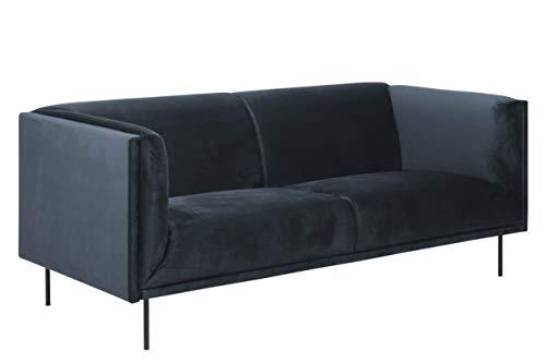 Movian Ola - Sofá de 3 plazas, 88 x 200 x 79 cm (largo x ancho x alto), azul oscuro