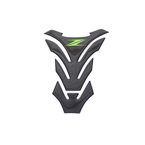 Wuyou Tankschutz Pad Motorrad-Kraftstoff-Öltank-Schutzkappen-Auflage-Aufkleber-Schutz for Kawasaki Z1000 Z 1000 Z1000SX Z800 Z750 Z 800 Z 750 Jede Abteilung (Color : D)