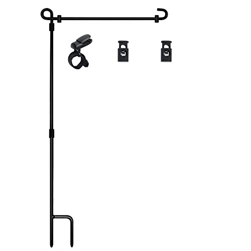 Garden Flag Stand, Premium Garden Flag Pole Holder...
