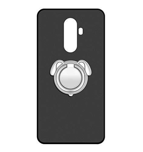 Sunrive Für WileyFox Swift 2/2 Plus Hülle Silikon, 360°drehbarer Ständer Ring Fingerhalter Fingerhalterung Handyhülle matt Schutzhülle Etui Hülle (Farbe Silber)+Gratis Universal Eingabestift MEHRWEG