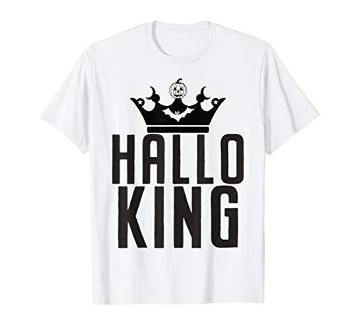 Halloween King Halloking Vintage Crown T-Shirt