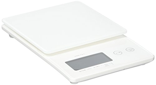 ドリテック デジタルスケール ストリーム 2kg ホワイト KS-245WT
