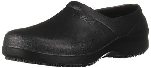 Fila Women's Galvanize Slip Resistant Work Shoe Hiking, Black, 9