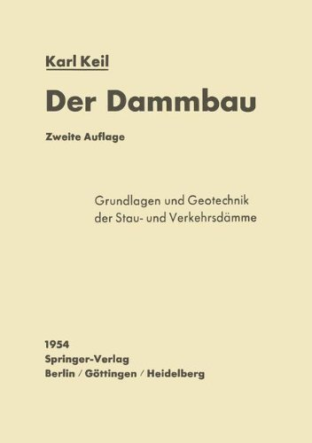Der Dammbau (German Edition) by Karl Keil (1954-01-01)