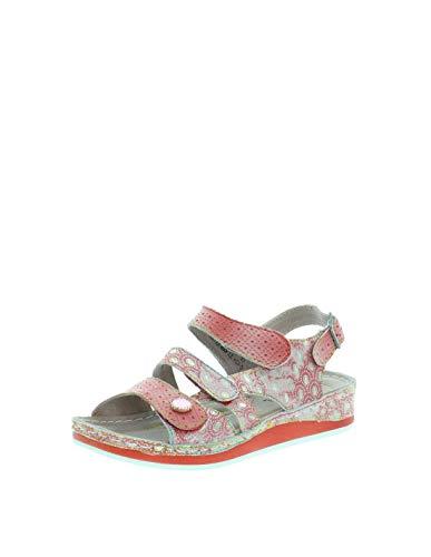 sandales - nu pieds laura vita 2476 brcuelo 069 rouge 37