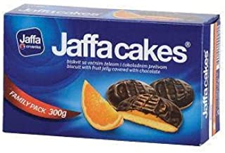 Jaffa Cakes - Biscuit and Jelly Covered Chocolate 300g