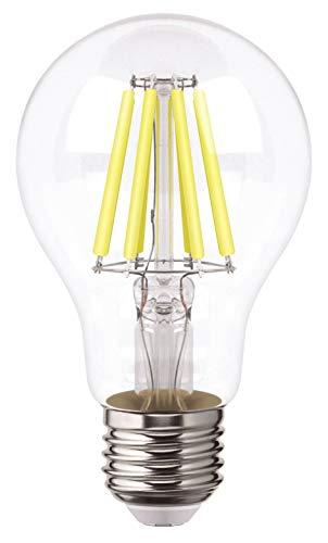 Aksi Foco LED Filamentos A19, Luz Cálida, 8...