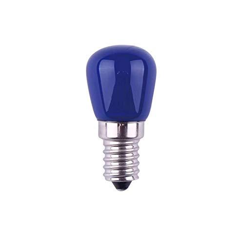Bombilla LED multicolor, E14, bombilla pequeña, decorativa para nevera, bombilla LED E14, 3 W, 220 V, bombilla de noche Unisun para casa, bar, fiesta, KTV, Mood Ambiance Lighting