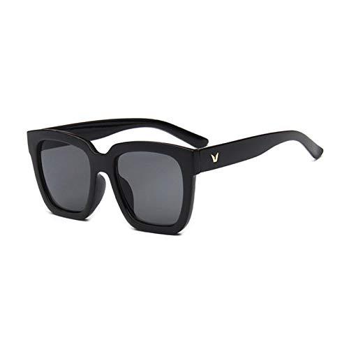 HYwang Gafas De Sol, Gafas De Sol De Montura Grande, Protección Solar Y Protección Uv, Gafas De Moda Con Montura Para Hombres