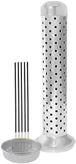 Safety Steel Agarbatti Stand 26 x 7.6 x 5.2 cm Incense Burner Holder for Positive Energy (Assorted Design)