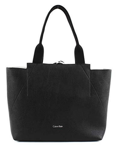 Calvin Klein Is4 Large Reversible Tote - Borse Donna, Black,...