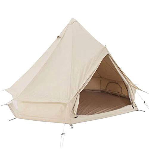 Tienda de Playa Tienda Pop Up Portátil,Tienda De Inodoro para Acampar,Tienda de campaña al Aire Libre, yurta Big Tent-Cotton_3 * 3 * 2m
