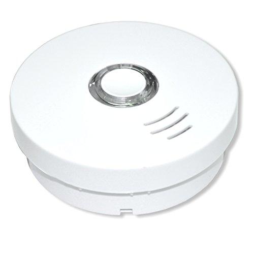 SUMMIT Rauchmelder/Rauchwarnmelder Modell GS 508 - VDs - geprüft nach DIN EN14604 - integrierte Lithium Batterie (10 Jahre Lebensdauer)