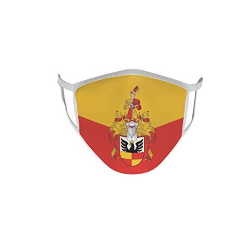 U24 Behelfsmaske Mund-Nasen-Schutz Stoffmaske Maske Hildesheim mit Prachtwappen