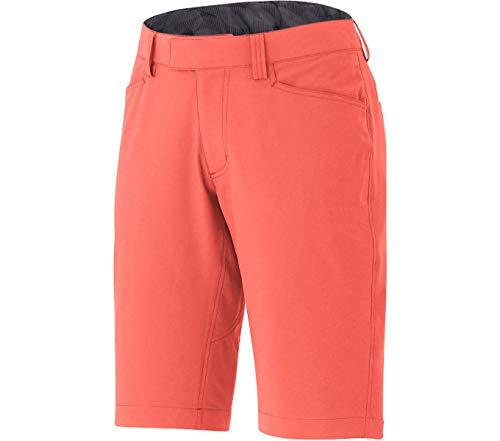 SHIMANO Pantalon Corto SH W Transit, Mujer, Rojo, Talla Única