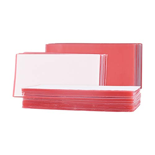 Dental Lab Base Plate Wax Orthodontic Red Utility Wax Sheets Dental Supply Modeling 20Pcs