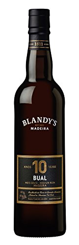 Madeira Wine Company Blandy's Madeira 10 Years Old Bual medium 0.50 Liter