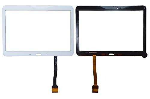 YuYue Touch Screen Digitizer Frontale Esterno Touch Glass Touch Sensore Lente con Strumenti per Samsung Galaxy Tab 4 SM-T530 T530 T530NU 10,1 Bianco
