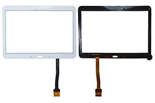 YuYue Touch Screen Digitizer Frontale Esterno Touch Glass Touch Sensore Lente con Strumenti per Samsung Galaxy Tab 4 SM-T530 T530 T530NU 10,1'Bianco