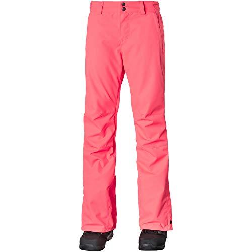 O'Neill Damen Snowboardhose rosa XL Hosen, neon Tangerine pink