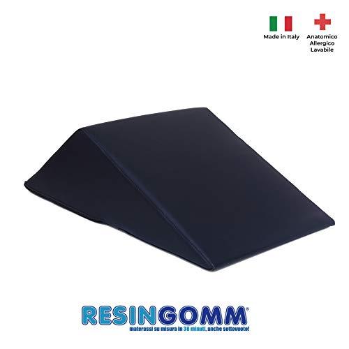 RESINGOMM Cuscino Solleva Gambe per Problemi al Nervo sciatico. Beneficio immediato e Alta densità per Il Massimo Supporto.