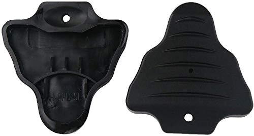 Aeromdale Fundas para tacos de bicicleta de carretera, protector de zapata de bicicleta, se adapta a los tacos Look Road para sistemas de pedales Spd-Sl