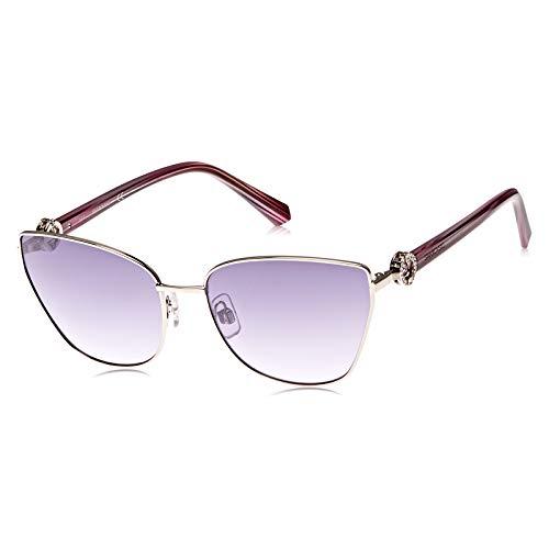 Swarovski SK-0167-16Z Gafas de sol, Plata, 59 para Mujer