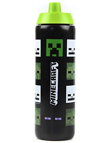 Minecraft zombi de la enredadera y Steve botella de plástico 724ml Deportes