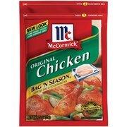 McCormick Bag 'N Season Chicken Flavor, 1.25oz (Pack of 6)