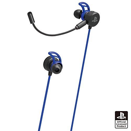 【SONYライセンス商品】ホリゲーミングヘッドセット インイヤー for PlayStation®4 ブルー【PS4対応】