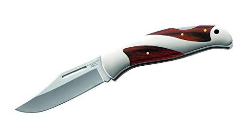 Herbertz Couteau de Poche, AISI 420, Bois, avec Emballage-Cadeau