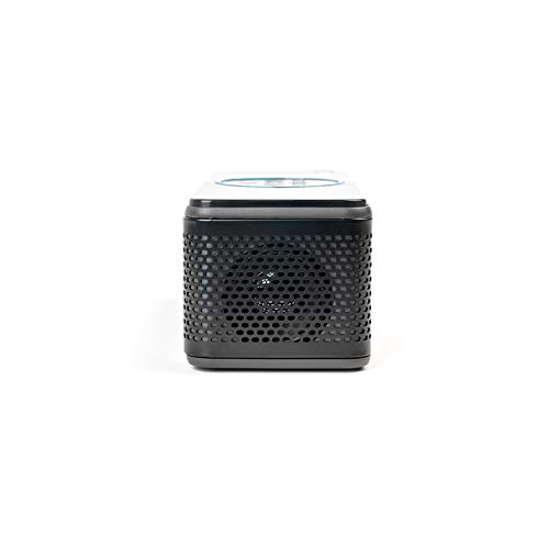 AAXA BP1 Speaker Projector � Bluetooth 5.0, Battery Power Bank, Up to 6 Hour Projection or 24 Hours Playtime, USB C Mirroring, Onboard Media Player, HDMI, DLP Portable Mini LED Projector Photo #4