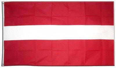 Flaggenfritze Fahne/Flagge Lettland + gratis Sticker