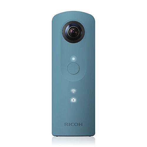 Ricoh Theta SC - Cámara 360º de 12 MP, color azul
