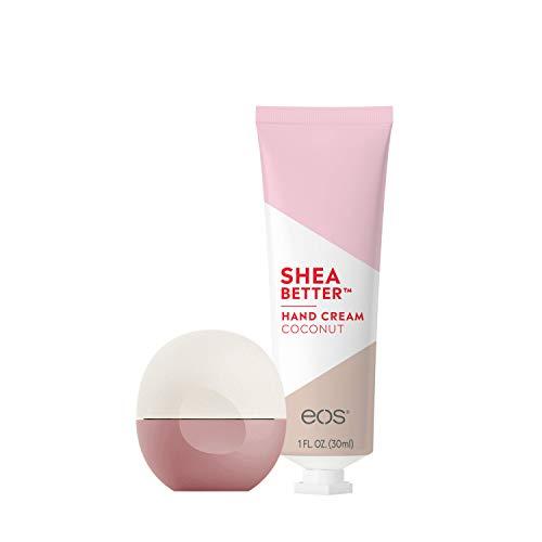 """Eos Let""""s Go Coconuts Super lip Balm + Shea Hand Cream"""